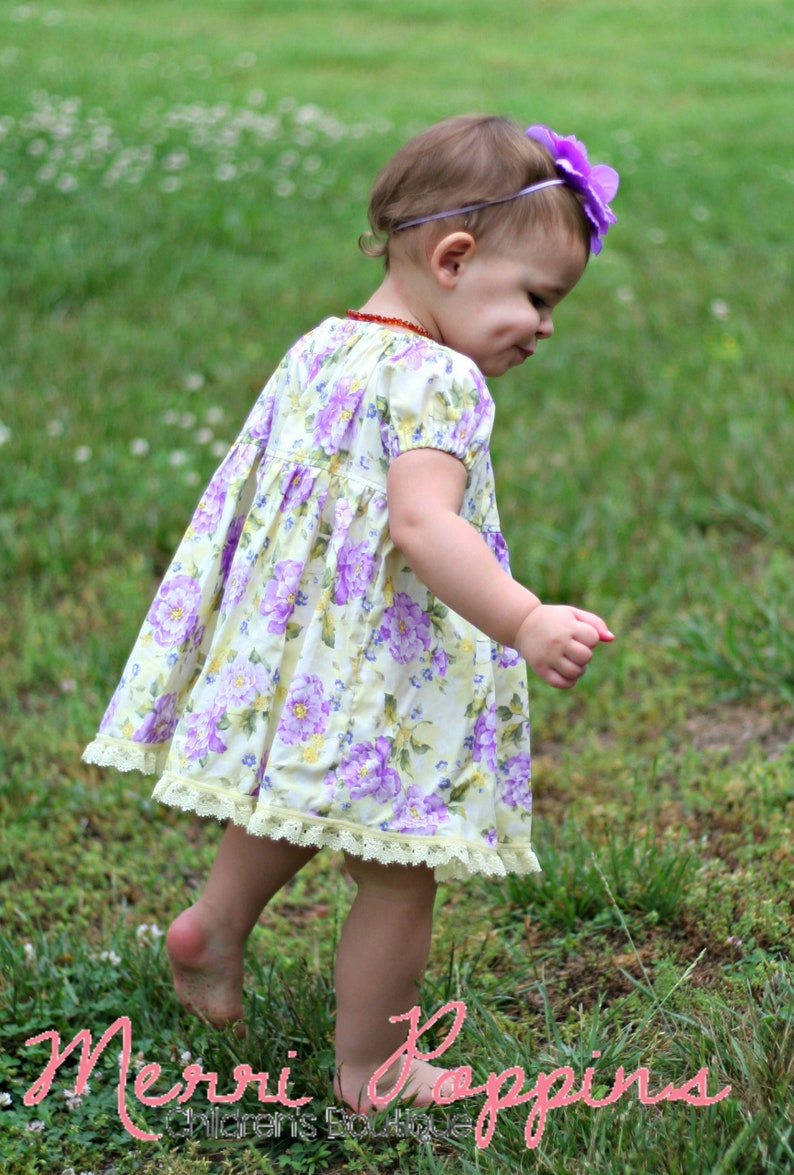 853135510169 2t Ready to Ship Marissa floral lace dress-toddler peasant