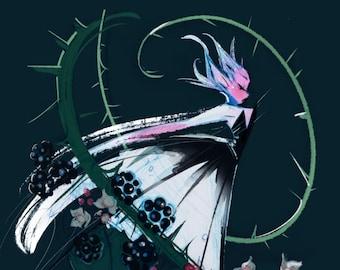Spring Fairies: Blackberry Bramble