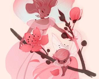 Spring Fairies: Cherry Blossoms