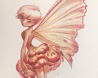 Spring Fairies: Carnation