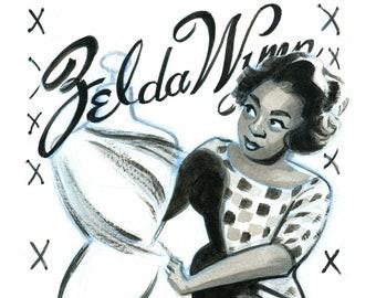 Black and Beautiful - Zelda Wynn Valdes