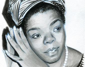 Black and Beautiful  - Maya Angelou