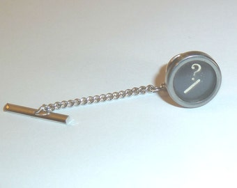 Your Choice of Letter or Number Typerwriter Tie Tack