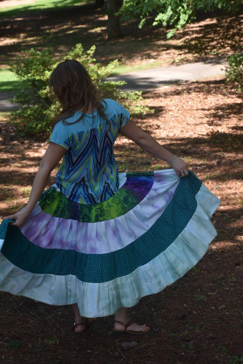 f19ed6cc8 Gypsy Belly Dance Skirt Ethnic Tribal Hippie Skirt Bohemian | Etsy