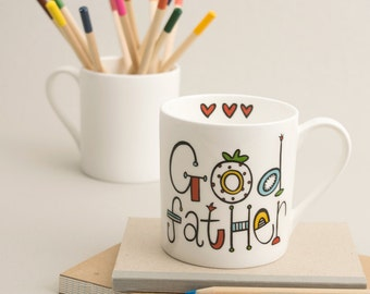 God Father Mug (can be personalised)