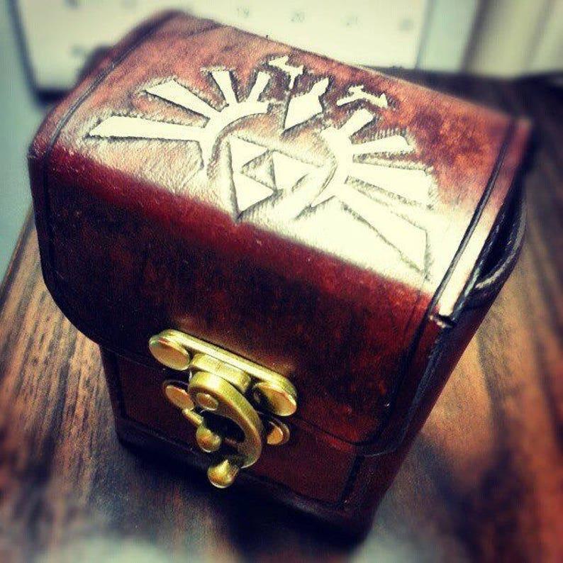 Customized Leather Deck Box / Deckbox  Magic the Gathering / image 0