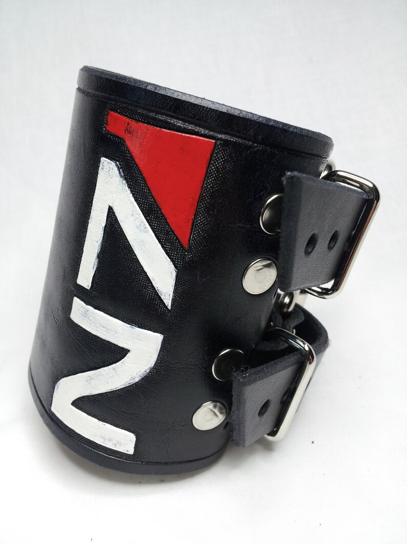 Mass Effect N7 Logo Wrist Cuff / Bracelet image 0