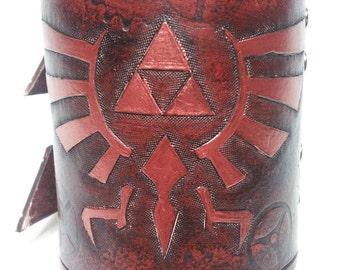 La leyenda de Zelda pulsera de cuero / pulsera brazalete