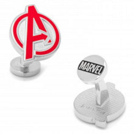 Men's and Boy's Avengers Super Hero Cufflinks