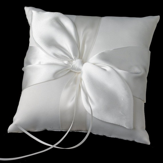 Wedding Accented Bridal Ring Bearer Pillow