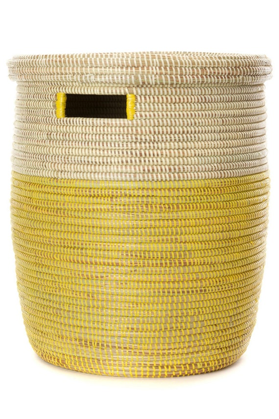 10 Unique African Laundry Storage Peace Corp Medium Baskets Assorted