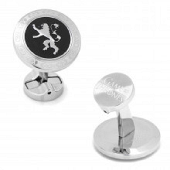 Men's Stainless Steel Cufflinks G O T Assorted Designs
