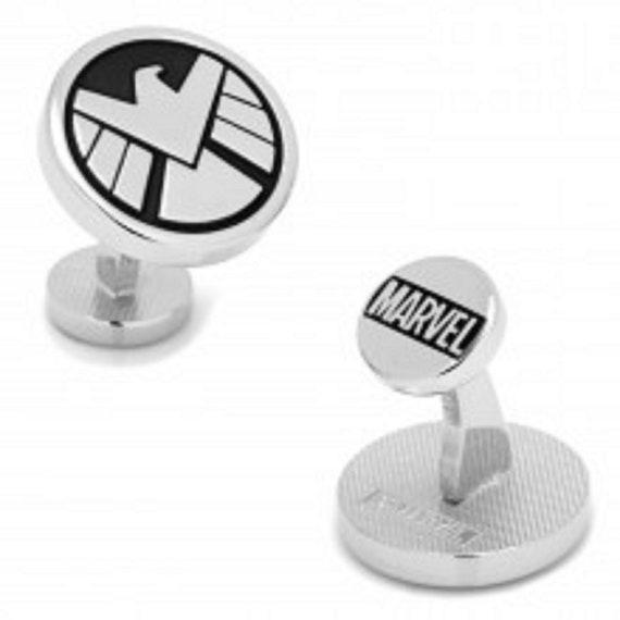 Men's and Boy's S.H.I.E.L.D. Super Hero Cufflinks