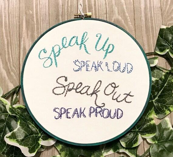 Aclu Donation Speak Up Activism Freedom Of Speech Etsy