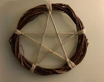 Pentacle Wreath