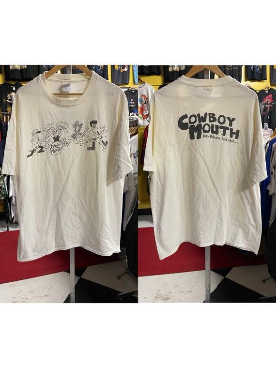 "1996 Vintage ""COWBOY MOUTH- New Orleans Rock & Rol"