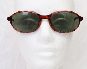 "90's Vintage ""KITTY"" Tortoise Large Oval Cat Eye Sunglasses"