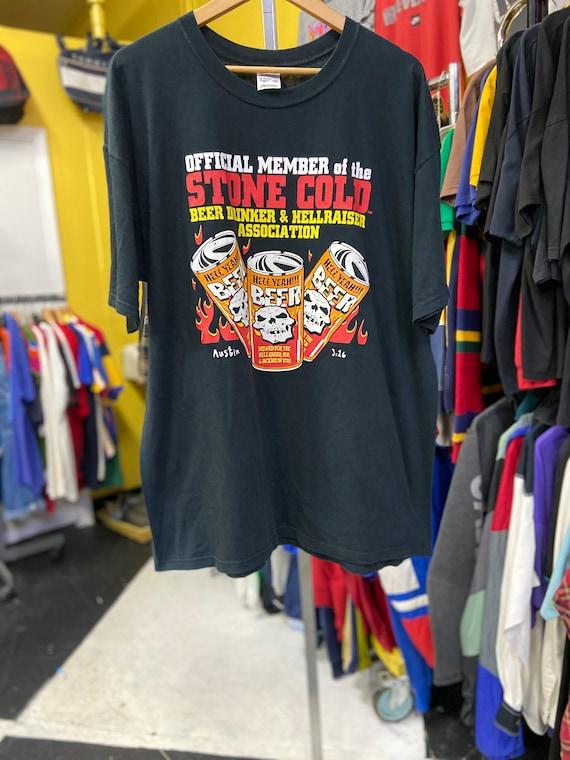 2000 Vintage STONE COLD Steve Austin Wrestling Tee