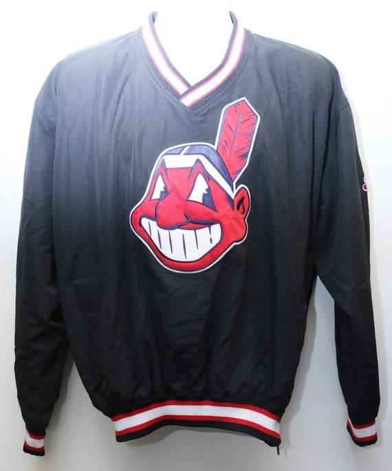 Moyen » Sz Rare « Pro Player Veste Pull Vintage Indians Cleveland 90 vZPqXxcwS
