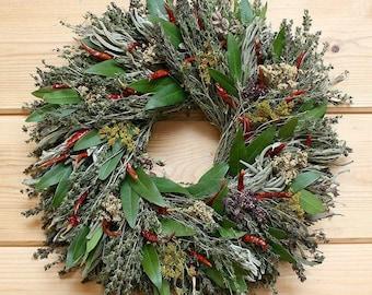 Chili Herb Wreath
