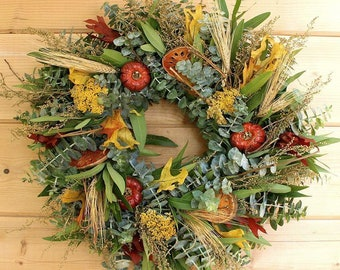 Fresh and Fragrant Wreath