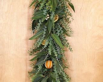 Eucalyptus Citrus Garland 6'