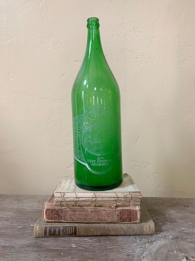 Mountain Valley Mineral Water Bottle, Quart size