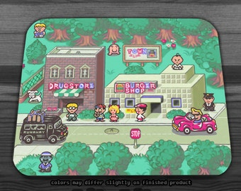 Earthbound Town Mousepad