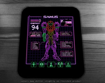 Sammy Stats Mousepad  Great Gift for any Retro Gaming Fan