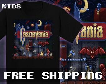 Vania Castle T-Shirt, Kids, Toddler, Baby  * Free Shipping * Great Gamer Gift