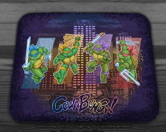 Ninja Teen Turtle Mutants Mousepad (2 Versions)