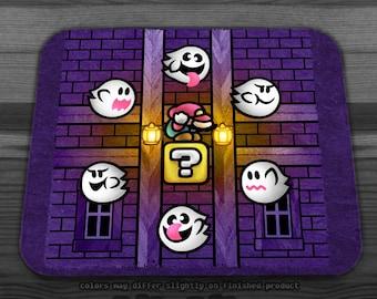 Super Mario Boo Ghosts Mousepad