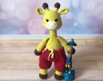 Amigurumi Pattern DIY Giraffe Part 1 amigurumi crochet / crochet ... | 270x340