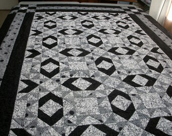 Aunt Sukey's Choice Twin Quilt
