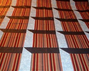Shadow Box Twin Quilt