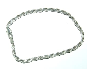 "6.00TCW Round Cut Created Diamond 7.25/"" Tennis Bracelet 925 Sterling Silver 3mm"