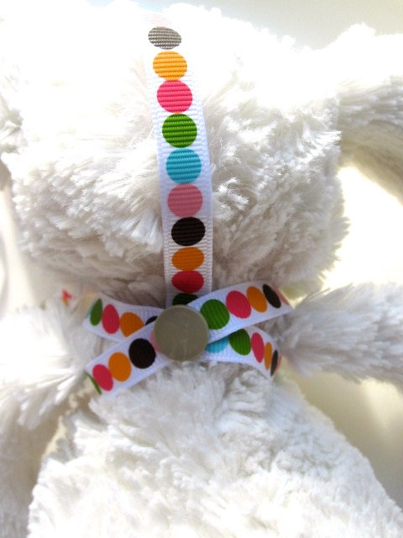 Jellycat toy strap saver bunny holder pram strap toy saver leash 3 in 1