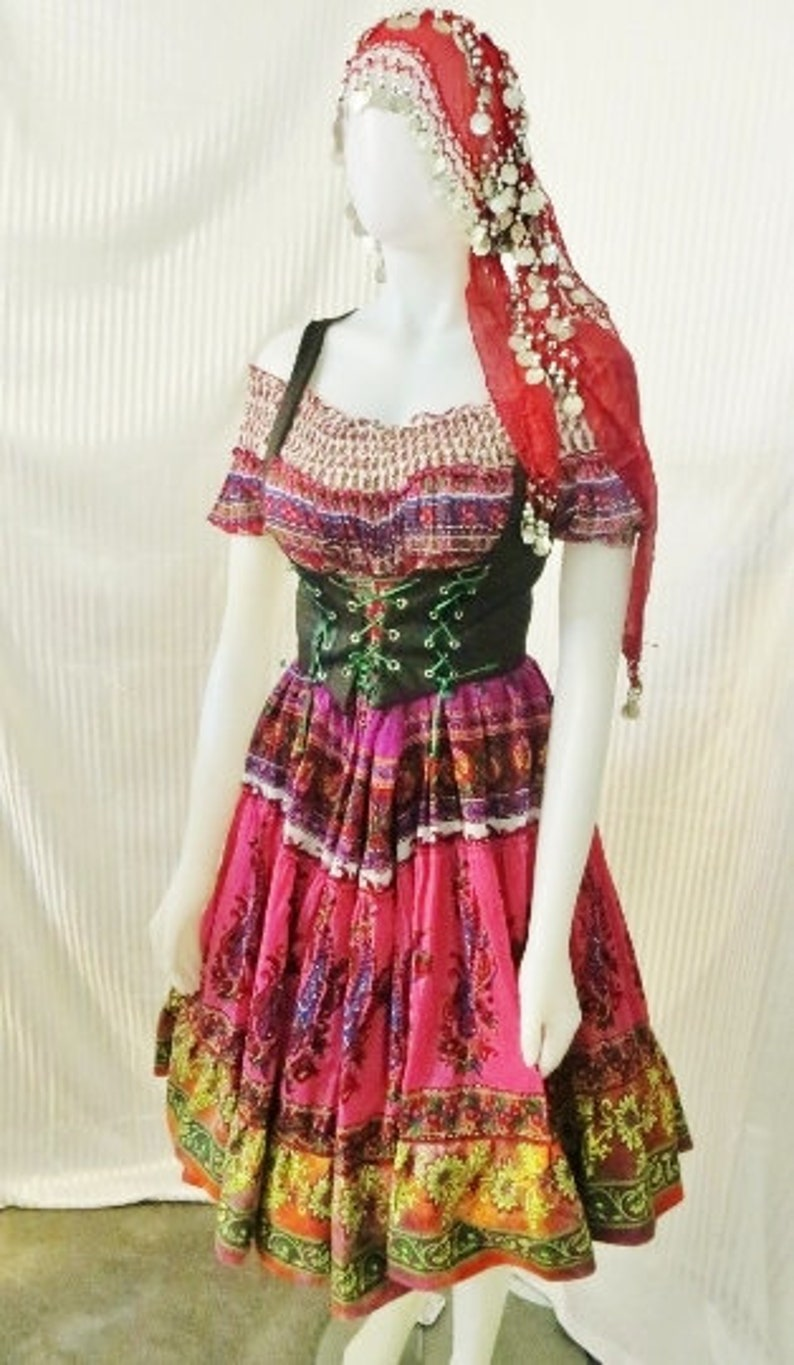 Renaissance Gypsy Dancer/ Fortune Teller Costume Made to YOUR measurements  on ETSY