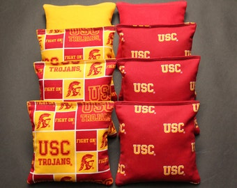 Admirable Usc Corn Hole Bags Etsy Gamerscity Chair Design For Home Gamerscityorg