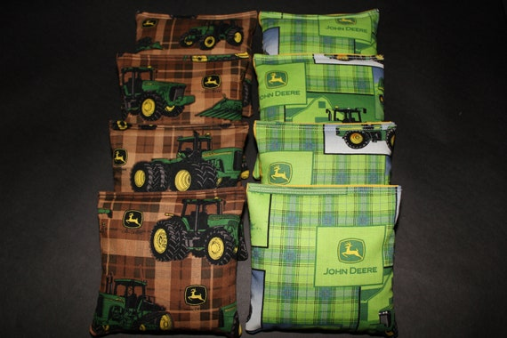 Phenomenal Cornhole Bean Bags Made With John Deere Fabric 8 Aca Regulation Size Corn Hole Bags Toss Game Spiritservingveterans Wood Chair Design Ideas Spiritservingveteransorg