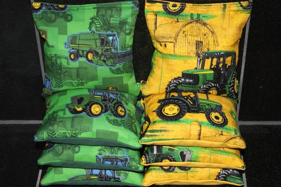 Strange Cornhole Bean Bags Made With John Deere Fabric Aca Regulation Size Cornhole Bean Bags Spiritservingveterans Wood Chair Design Ideas Spiritservingveteransorg