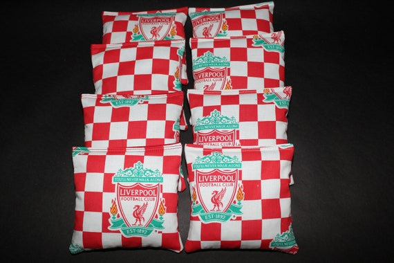 White EPL Liverpool Silas OTS Scarf One Size
