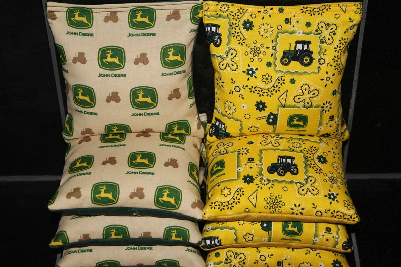 Superb John Deere Tractor Corn Hole Bags 8 Aca Regulation Cornhole Bean Bags Spiritservingveterans Wood Chair Design Ideas Spiritservingveteransorg