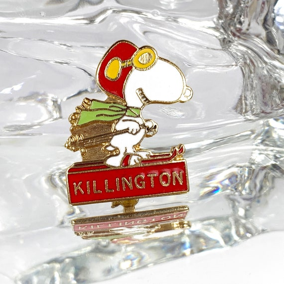 KILLINGTON VT 6 STAR SKI PIN
