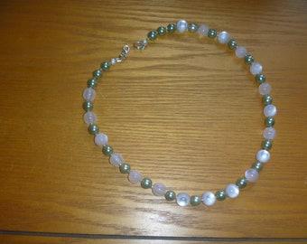 ecofriendly handmade beaded necklace, ecofriendly choker