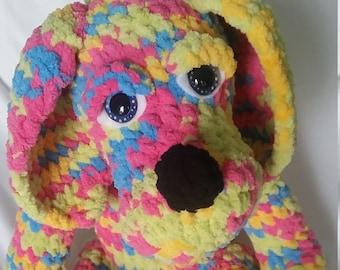 Cuddly Puppy Crochet Pattern