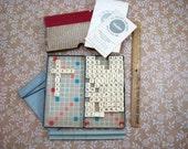 Vintage Travel Magnetic Scrabble Board Game