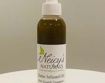 Chebe Infused Hair Oil | Hair Serum For all hair types | Hair Treatment | Moringa | Chia | Dry Hair | Essential oils | Small Batch