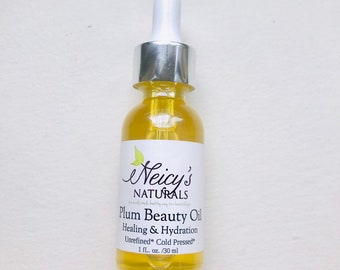 Plum Beauty Oil | 1oz | Cold Pressed | Anti-aging | Hydration
