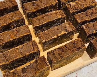 African Black Soap| Turmeric | Colloidal Oatmeal | Detox | Chia Seed Oil | 4.5-5oz | Black Seed Oil
